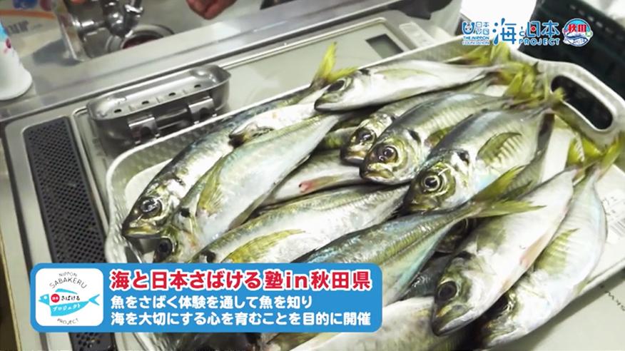 さばける塾 日本財団 海と日本PROJECT in 秋田県 2020 #29